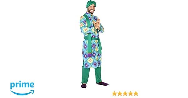Atosa-56481 Disfraz Hindú, Color Verde, XL (56481): Amazon.es ...
