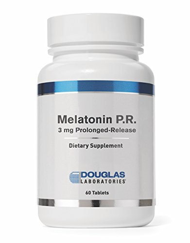 - Douglas Laboratories - Melatonin - Prolonged Release Supports Sleep/Wake Cycles (3 mg.) - 60 Tablets
