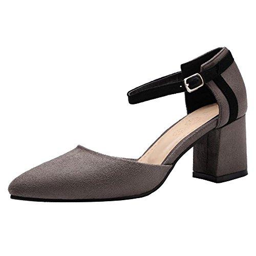 Bout Femmes Chaussures RAZAMAZA Camel Escarpins Ferme Ete Bride Cheville Sandales ftqnFOd