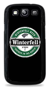 416 Stark Winterfell Beer Game of Thrones - Black Silicone Case for Samsung Galaxy S3 hjbrhga1544