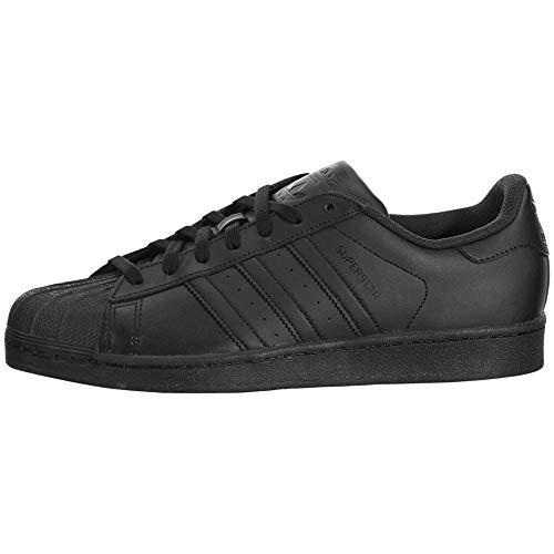 adidas Originals Men's Superstar Shoe Running Black, ((6 M US)