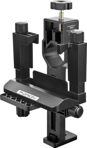 Orion 05306 SteadyPix Pro Universal Camera/Smartphone Mount (Black) by Orion