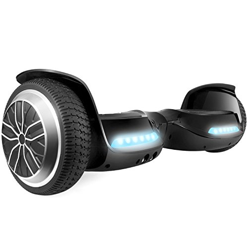 Levit8ion ION 6.5' Hoverboard -Self Balancing Scooter 2 Wheel Electric Scooter - UL Certified 2272 Bluetooth W/Speaker, LED Lights