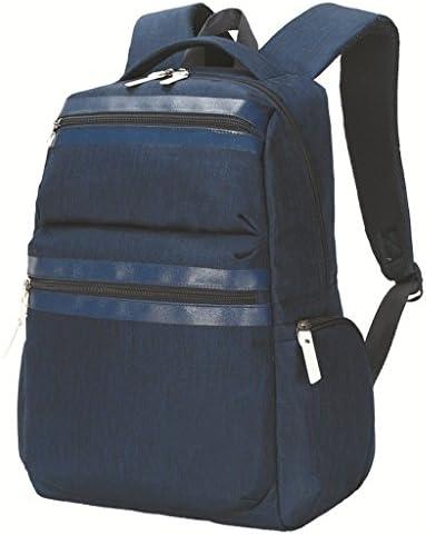 女子レジャー旅行用バックパックに対応した男女兼用のマルチバッグ女の子リュックサック撥水 (色 : Blue)