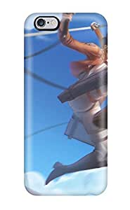 New Diy Design Clouds Houses Anime Anime Boys Swords Skies Shingeki No Kyojin Mikasa Ackerman Eren Jaeger For Iphone 6 Plus Cases Comfortable For Lovers And Friends For Christmas Gifts