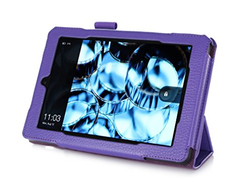 Mochie (Trademark) Genuine Leather Case Cover for Kindle Fire HD 7