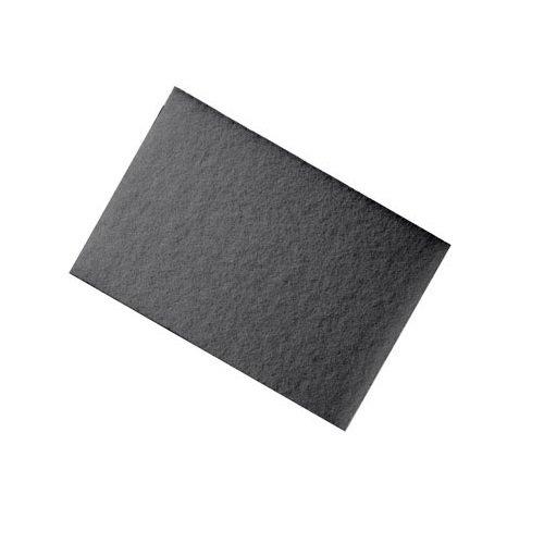 Floorpad Strip12x18 Blk (Blk Mop)