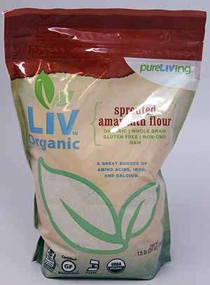 (Pure Living Liv Organic Sprouted Amaranth Flour -- 24)