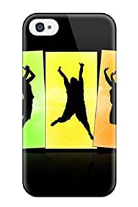 New Iphone 4/4s Case Cover Casing(crazy Jumps Wide)