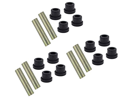 3 Sets Leaf Spring Bushing Kit Front Rear Golf Cart Part for Club Car DS 1976-Up ()