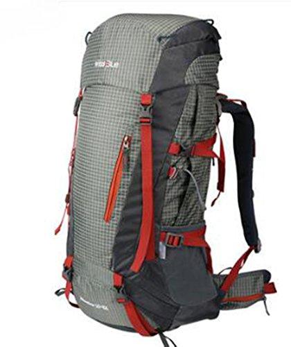Outdoor Bergsteigen Taschen Damen und Herren Rucksack tragen Taschen groß Kapazität Rucksack ZUJqaUmo
