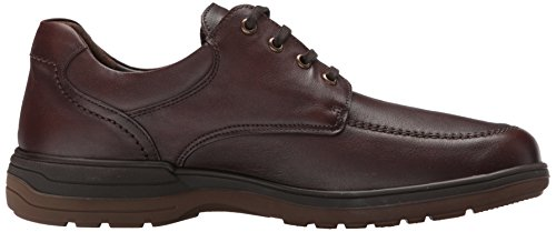 Mephisto Mens Douk Leather Shoes Chestnut