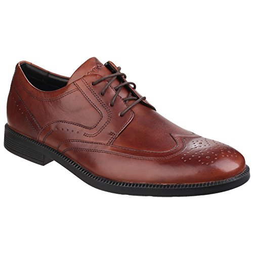 Modern Brogues Homme Dressports Marron Wingtip Rockport pwt5Rq