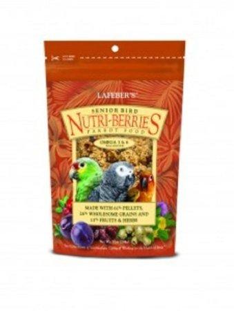 Lafebers Senior Bird Nutri-Berries for Parrots 10oz, My Pet Supplies