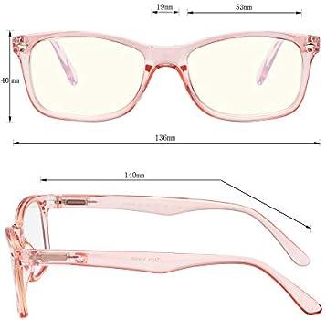 Yogo Vision Blue Light Blocking Glasses Anti Eyestrain Eyeglasses Frames Computer Glasses Women and Men