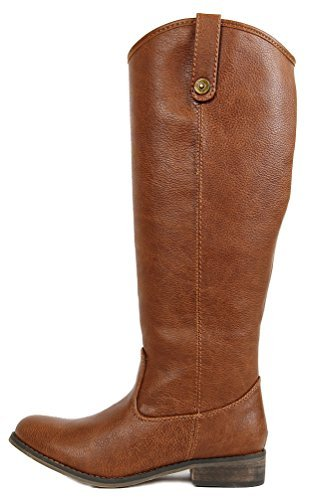 Breckelle's Rider-18 Womens Classic Knee High Riding Boots PTAN 6]()