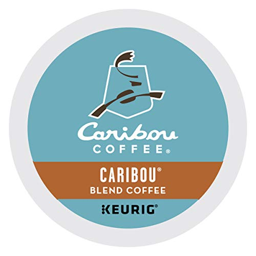 Caribou Coffee, Caribou Blend, K-Cup Portion Pack for Keurig K-Cup Brewers (Pack of 48)