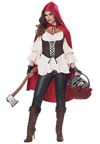 California Costumes Ain't Afraid a No Wolf Adult Costume-Medium (Little Bad Wolf And Red Riding Hood)