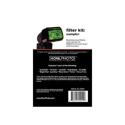 Honlphoto Sampler Gel Filter Kit by Honlphoto
