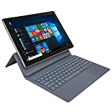 Nuvision NES11-C432SSA Encite Split 11.6' 2-in-1 Tablet with Keyboard, Windows 10 Home, Intel Processor, 4GB RAM, 32GB flash storage, Dual Camera, 1080P HD Webcam (Renewed)