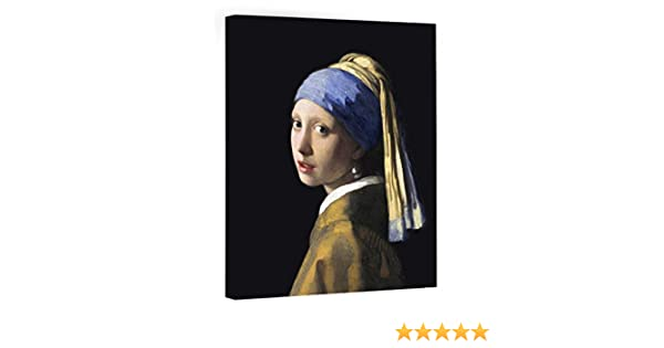 008d73cade8 Amazon.com  Eliteart-Girl with a Pearl Earring By Johannes Vermeer Giclee  Framed Art Canvas Prints  Posters   Prints