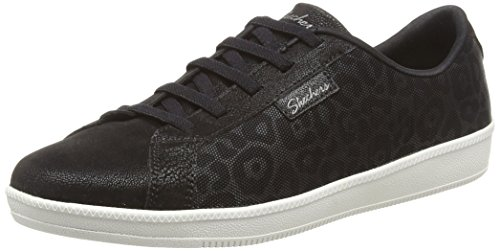 Skechers Black Bkw Donna Ave White Nero Sneaker Madison rwqr4pX