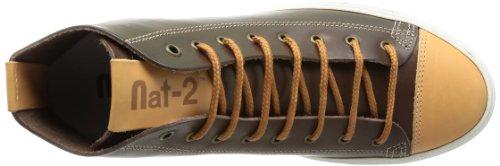 Nat-2 Brave Hi Herren Sneaker Braun (Brown Blue)