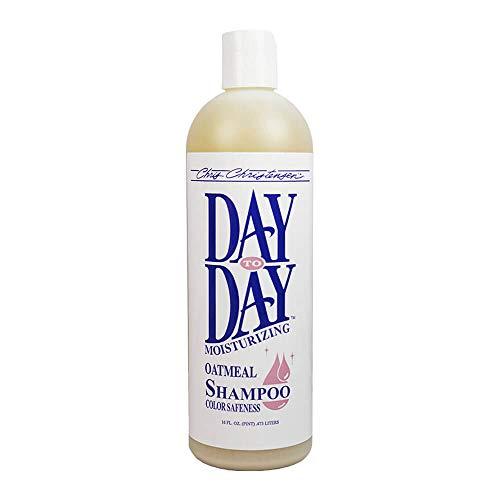 Chris Christensen Day to Day Oatmeal Shampoo, 16-ounce (Colloidal Oatmeal Shampoo)