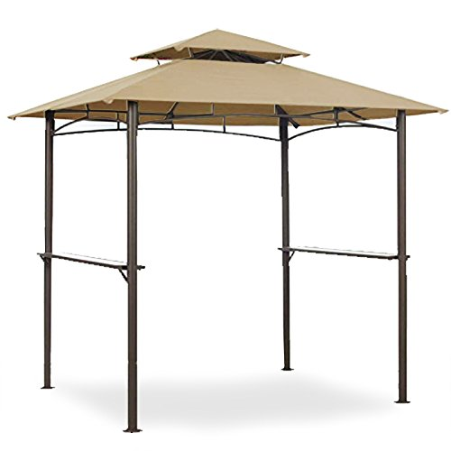 Garden Winds Grill Shelter Replacement Canopy for Model L-GZ238PST-11 (Will not fit any other gazebo model) (Patio Gazebos Walmart)