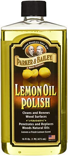 Orange Spray Trigger Cleaner Oil - Parker & Bailey Natural Lemon Oil Polish 16oz