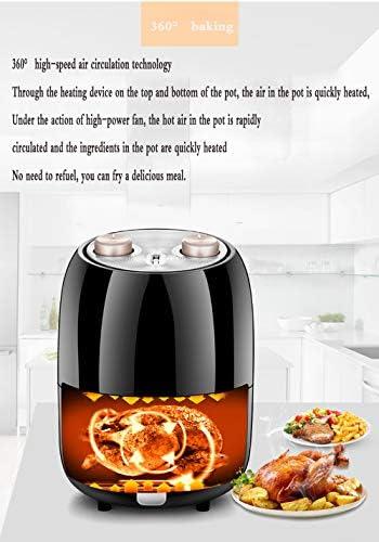 HANYF Friteuse À Air, Friteuse Électrique 2,5 litres 1000 Watts/avec Contrôle De Température/Certification ETL/Appareils De Cuisine/Facile À Nettoyer