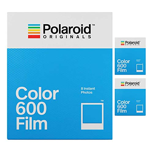 Polaroid Originals Instant Classic Color Film for 600 Cameras (3-Pack() (Classic Polaroid Camera Film)