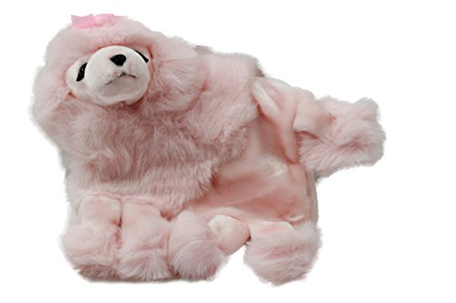 - Timeless Toys Pink Plush Poodle Purse and Muff