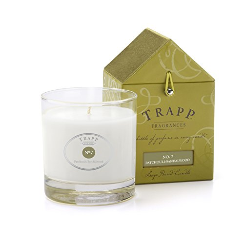 Trapp Signature Home Collection No. 7 Patchouli/Sandalwood Poured Scented Candle, 7-Ounce - Sandalwood Patchouli