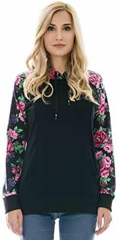 c1587be9114f9 Bearsland Women's Maternity Hoodie Zipper Breastfeeding Shirt Nursing  Sweatshirt with Pockets