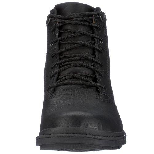 Clarks Rockie Co GTX 203184627 - Botas de cuero para hombre Negro (Black Waterproof)