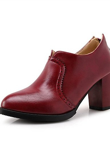 similicuir Cn43 chaussures talons Blanc Talon Habillé Gris extérieure us10 5 Talons Rouge 5 Chaussures Uk8 À gros Femme Gray Eu42 Ggx Décontracté noir qBvZppw7