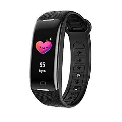 JSX IP67 waterproof smart bracelet heart rate activity tracker fitness wristband smart watch suitable for Android and IOS mobile phones Estimated Price £33.88 -