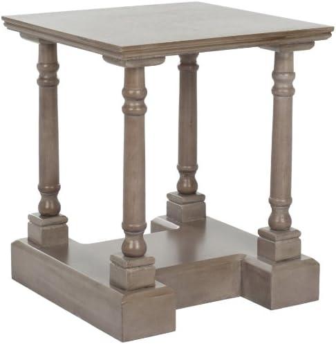 Safavieh American Homes Collection Endora Vintage Grey End Table
