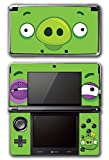Angry Birds Bad Piggies Space Go Epic Fight Pig Video Game Vinyl Decal Skin Sticker Cover for Original Nintendo 3DS System