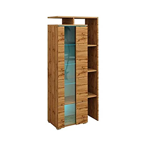 Amazon.com: Meble Furniture & Rugs Euphoria Modern Bookcase ...
