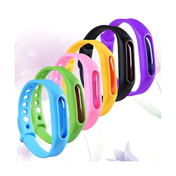 collectsound Anti Mosquito Pest Repeller Repellente per Insetti Bugs Cinturino Band Wristband 3 spesavip