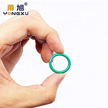Ochoos 100pcs 10 Sizes 1.5//1.9//2.4//3.1mm O Rings Rubber O Ring Seal FKM//Viton Sealing O-Rings Washer o-Ring Set Fuel Assortment Kit Box Color: BFG100-1.5mm