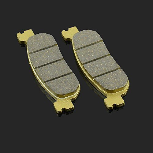JFG RACING 99.77x30.2x9MM 1 Pair Front&Rear Brake Pads For YAMAHA RZ 50 TW 200 XT 250 05-08 YZF 600 R R6 99-02 YZF 1000 R1 02-03