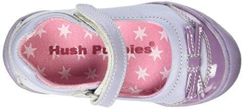 Hush Puppies Mädchen Debbie Mary Jane Halbschuhe Violett (Lilac)