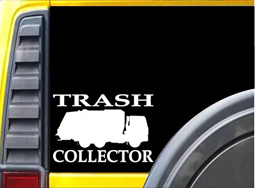 Truck Golf Shirt (Trash Collector sticker L227 8