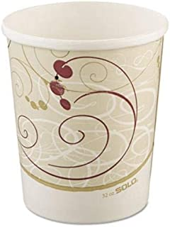 product image for SOLO. Cup Company Flexstyle Double Poly Paper Containers, 32oz, Symphony Design, 500/Carton (H4325SYM)