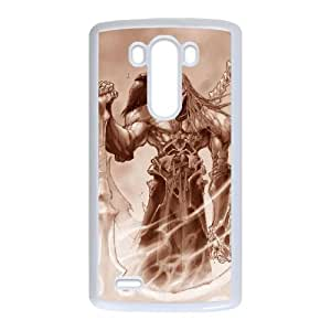 Darksiders LG G3 Cell Phone Case White Customize Toy zhm004-3851517