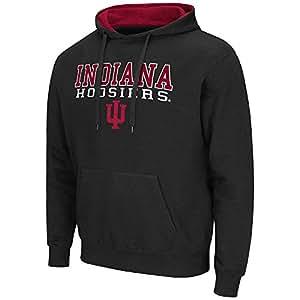 NCAA Indiana Hoosiers Pullover Hoodie (Black)_3XL