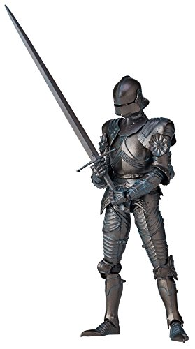 KT Project KT-020 Takeya Style Freestyle 15th Century Gothic Expression Field Armor (Bronze) Action Figure ()